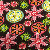 Floral Explosion Print Fabric